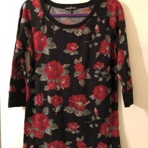 Almost Famous floral tunic top